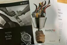 SWATCH Watch TAG HEUER 1996 Summer Olympics Theme Print Advertisements