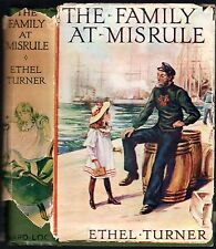 Vintage ETHEL TURNER : THE FAMILY AT MISRULE EC hardcover w/jkt