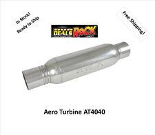"""Aero Turbine Performance Exhaust 4"""" Muffler AT4040"""