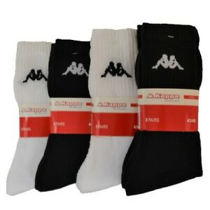 Kappa® Socken Sportsocken Tennissocken Arbeitssocken Freizeitsocken 6-24 Paar
