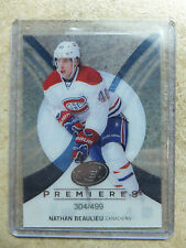 13-14 UD ICE Premieres Rookie RC #98 NATHAN BEAULIEU /499