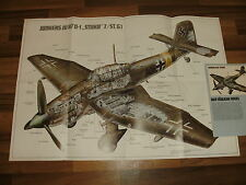 RIESEN-POSTER:  Junkers JU 87 STUKA   88 x 60 cm -- Udets Idee // Adler Ostfront