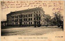 CPA Lyon-Lycée de Jeunes Filles, Place Edgar Quinet (427190)
