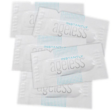 Jeunesse 5xSachet Instantly Ageless Treat Eye Bags in Seconds Anti-aging Celltek
