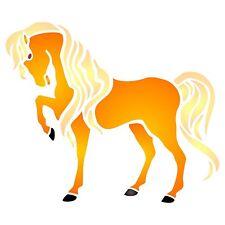 "Horse Stencil 7.5"" x 6.5"" Reusable Stallion Farm Animal Wall Furniture Template"