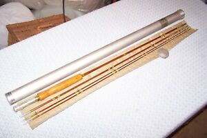 Wright & McGill Granger Special 8' Bamboo Fly Rod In The Labelled Tube!!!