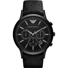 Emporio ARMANI AR2461 Mens Black Chronograph Watch