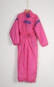 Full Snow Ski Suit All in one 90's UK 12 MEDIUM  (45H)