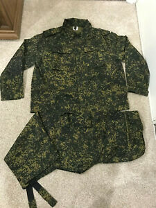 Russian camo military Digital Flora Uniform Army SUMMER Private Purchase XL