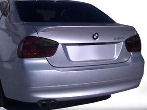 06 - 08 BMW 3 series (sedan) smoked tinted tail light covers vinyl 325 328 330