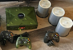 Xbox Halo Special Edition Console 250GB Controllers XECUTER2 50,000+ Games
