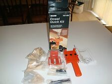 SEARS 67188 DOWEL QUICK KIT FOR MAKING DOWEL JOINTS NEW SEALED BAGS  INSTRUCTION