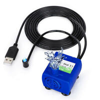 AU_ JW_ REPLACEMENT USB QUIET SUBMERSIBLE ELECTRIC WATER PUMP FOR PET DRINKING F