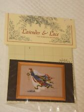 Lavender & Lace Victorian Designs Counted Cross Stitch Pattern Angel of Freedom