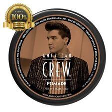 Original New American Crew Pomade Hold High Shine Style Hair Gel Men Full Size