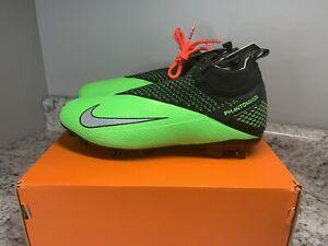 Nike Jr Phantom VSN 2 Elite DF FGMG Soccer Cleats Size 6Y MSRP $175 CD4062-306