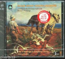Elgar-Holst-Delius-Grainger - Choral Works - Halsey NEW