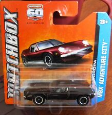 Matchbox HOT Lotus Europa car 60 Year Anniversary model MBX BROWN Mag Wheels