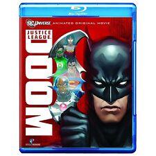 Justice League . Doom . Animated Original Movie . Blu-ray . NEU . OVP
