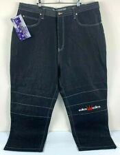 Dada Supreme Men's Jeans Vintage 90's Era Hip-Hop Streetwear Jean Pants Size W46