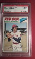 1977 O-Pee-Chee OPC Fergie Jenkins #187 HOF Phillies, Cubs,  Red Sox PSA 9 MINT