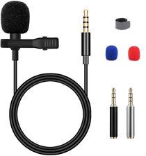Blusmart 3.5mm Clip Mikrofon Kondensator-Mikrofon für iPhone Android Smartphone