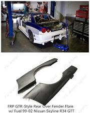 FRP Rear Over Fender Flare w/ For 99-02 Nissan Skyline R34 GTT GTR Style