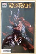 WAR OF THE REALMS #1 GABRIELE DELL'OTTO 1:10 VARIANT COVER MARCH 2019 NM