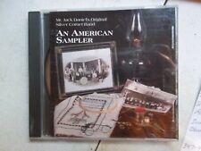 An American Sampler: Mr. Jack Daniels Original Silver Corner Band