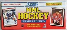 1990 Score NHL Hockey Premier Edition Player Collector Set-  Eric Lindros Rookie