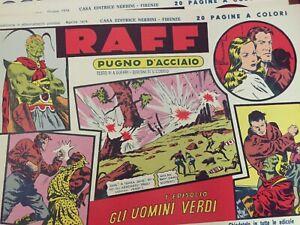 Raff, Pugno D'Acciaio - anastatica Nerbini 1974 **