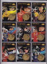 ^1997 Pinnacle COIN & CARD #19 Ward Burton BV$1.65! You get COIN & CARD