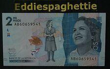 Colombia 2000 Pesos 19-8-2015 UNC P-458a
