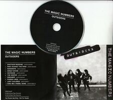 THE MAGIC NUMBERS Outsiders 2018 UK 10-track promo CD + press release