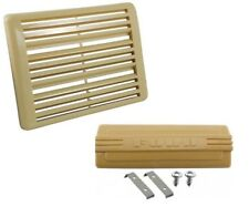 1948-1950 Ford pickup / Ford truck radio hole and speaker grille covers- Beige