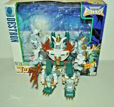 Transformers Beast Wars II neo D-21 God Neptune G1 Seacons Piranacon Redeco MIB