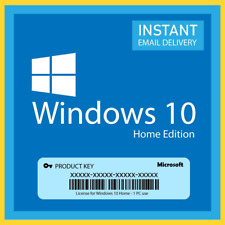 WINDOWSS 10 HOME KEYY 64/32 BIT GENUINE ACTIVATION WIN LICENSE INSTANT DELIVERY