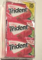TRIDENT ISLAND BERRY LIME (15) 14 Packs 210 Pieces Fresh
