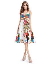 Ever-Pretty Satin Empire Waist Formal Dresses for Women