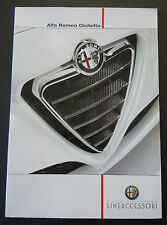 Alfa Romeo Giulietta Accessories Brochure (Feb 2012)  DUTCH