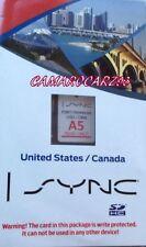 Ford SYNC Navi SD Card * A5 Map © 2013 2014 Escape F150 Focus Flex Fusion Taurus