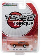 1:64 GreenLight *Tokyo Torque Japan* Brown 1971 Datsun 240Z Sports Car *Nip*