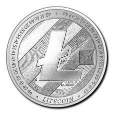 TCHAD 5000 Francs Argent 1 Once Crypto Série - Litecoin 2020