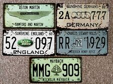 USA American sports embossed License Number Plates sign pub bar garage novelty