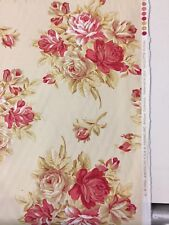American Folk Nicolette Floral vintage print fabric by the yard pillows drapery