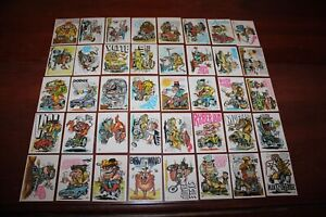 1970 Donruss Odder Odd Rods Trading Cards set of 40 out of 66 Vintage Ex cond