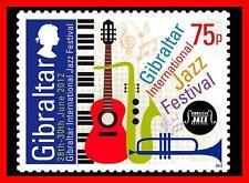 Gibraltar 2012 JAZZ FESTIVAL SC#1340 MNH FV£0.75/CV$2.40 MUSIC