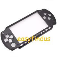 for SONY PSP 1000 series black FACEPLATE front COVER THEME OLD VERSION new