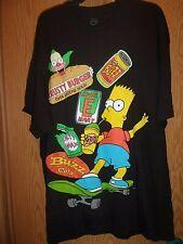 Simpson Boy black 2XL t shirt food n drink skateboard