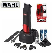 Wahl Precision Beard Trimmer Cordless Groomer Hair Clipper Shaver 1.6mm-12mm